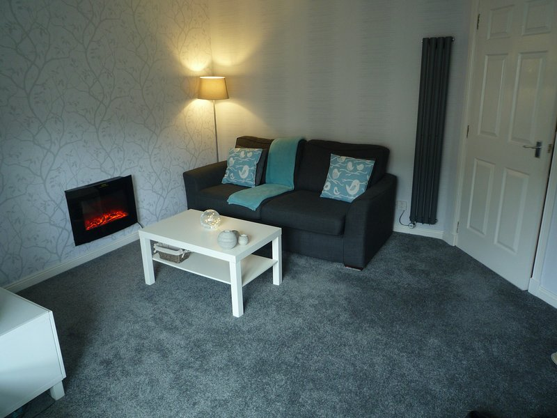 Superb & Modern 2 Bedroom Apartment in Central Paisley - Sleeps 4 Guests, holiday rental in Lochwinnoch