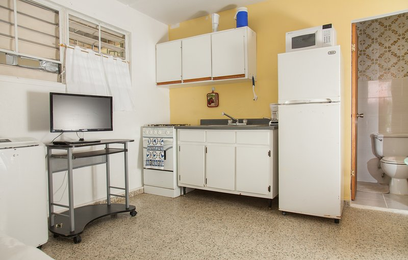 Outra cozinha sala tiro.