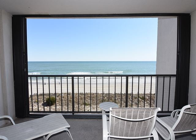 Station One 5B Ocean Front Balcony