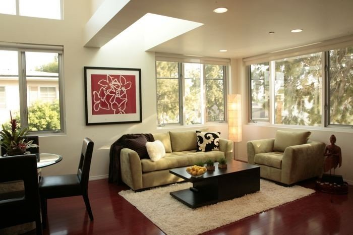 The Main Living Area is Light, Open & Spacious