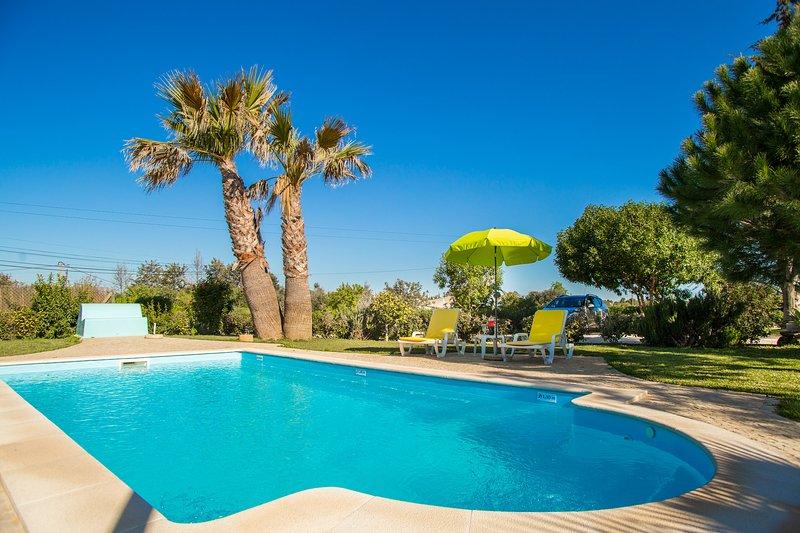 Tore Villa, Armação Pera, Algarve, vacation rental in Fonte De Louzeiros