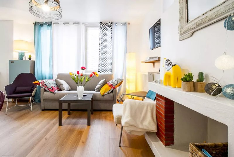 ❤️ACCUEILLANT T3-Proche centre 2 à 6 pers. parking❤️, holiday rental in Toulouse