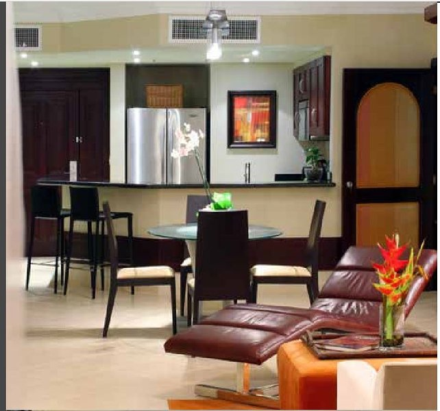 Cozinha / sala de jantar / sala de estar.