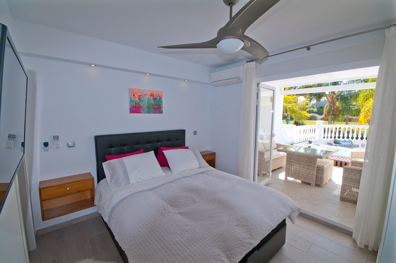 Master Bedroom with terrace access view