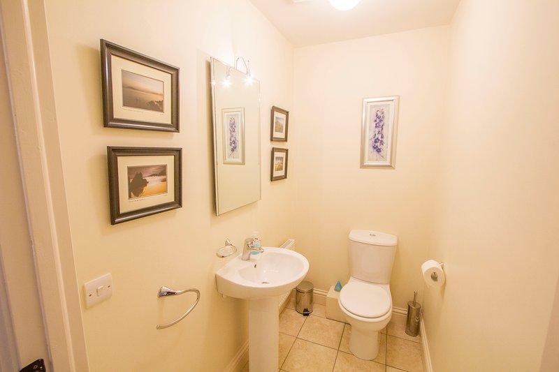 Extra toilet beneden - 5e toilet in het huis