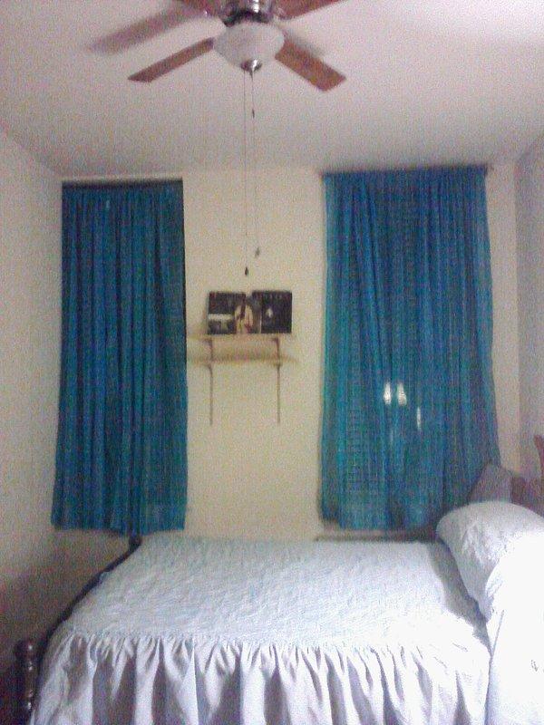 Dormitorio principal, vista de la ventana