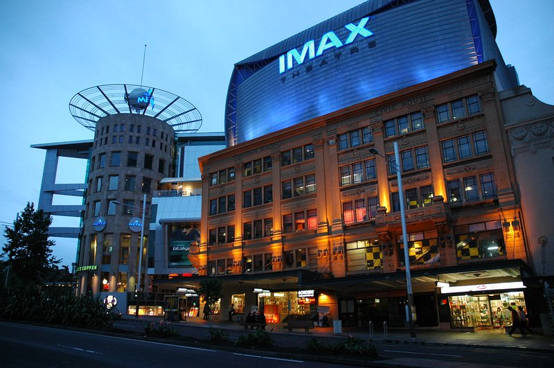 An 8min walk to the IMAX & Event Cinemas.