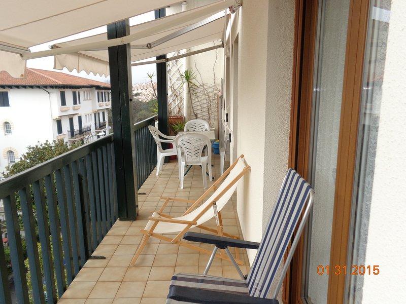 Apartamento de 2 habitaciones Duplex, holiday rental in Hendaye