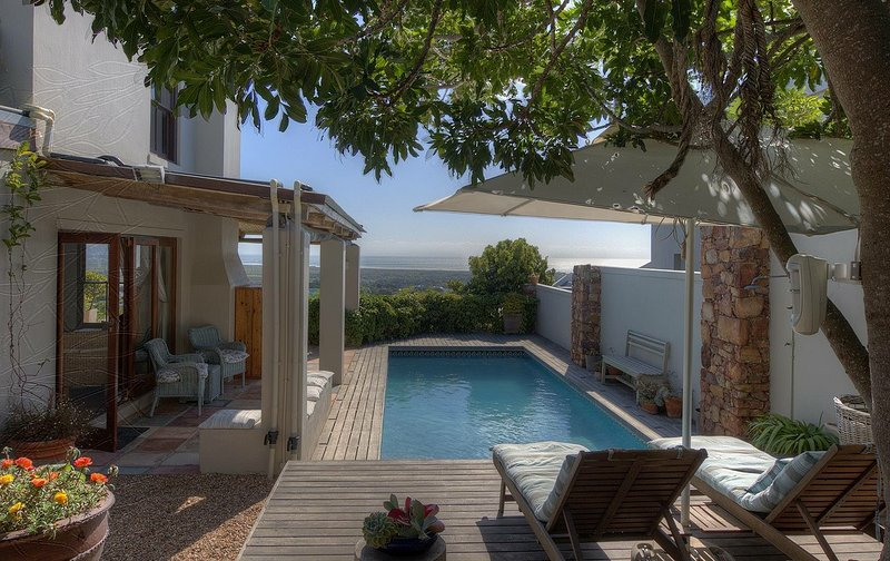 Stunning outdoor areas with views of Noordhoek beach and surrounding mountains