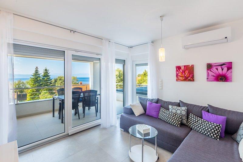 Apartment Vanessa, holiday rental in Njivice