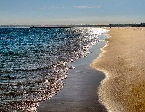 increíble playa de Alvor
