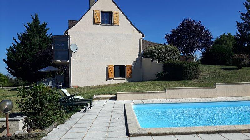 Gîte Les Bories, holiday rental in Nuzejouls