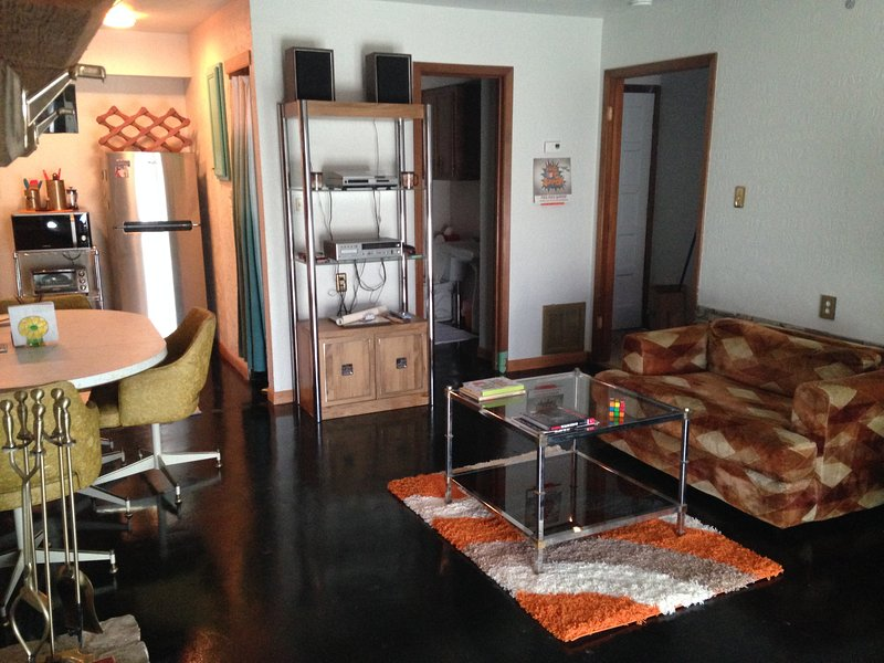 Swanky Condo with all retro furnishings