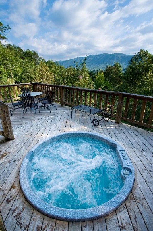 Angels Loft View from Hot Tub