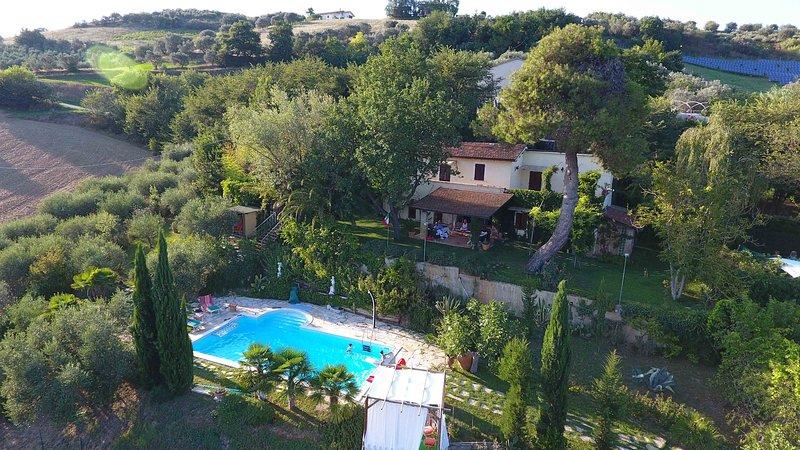 panorámica aérea Resort Afrodita
