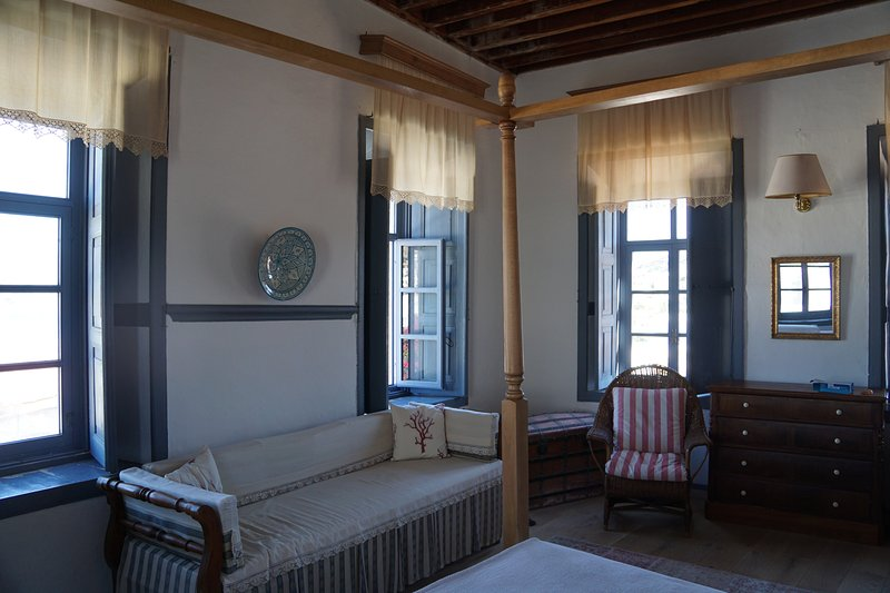 Unique 19gh century mansion 4BE 2BA, holiday rental in Skala