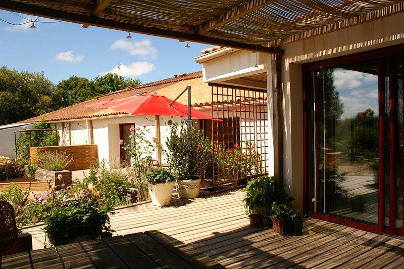 Chambre et table d'hotes 'La Chèvrerie'  près des sables d'olonne, vacation rental in Vaire