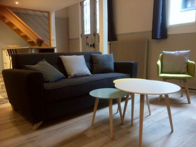 Appartement meublé en centre ville, alquiler de vacaciones en Le Grand-Quevilly