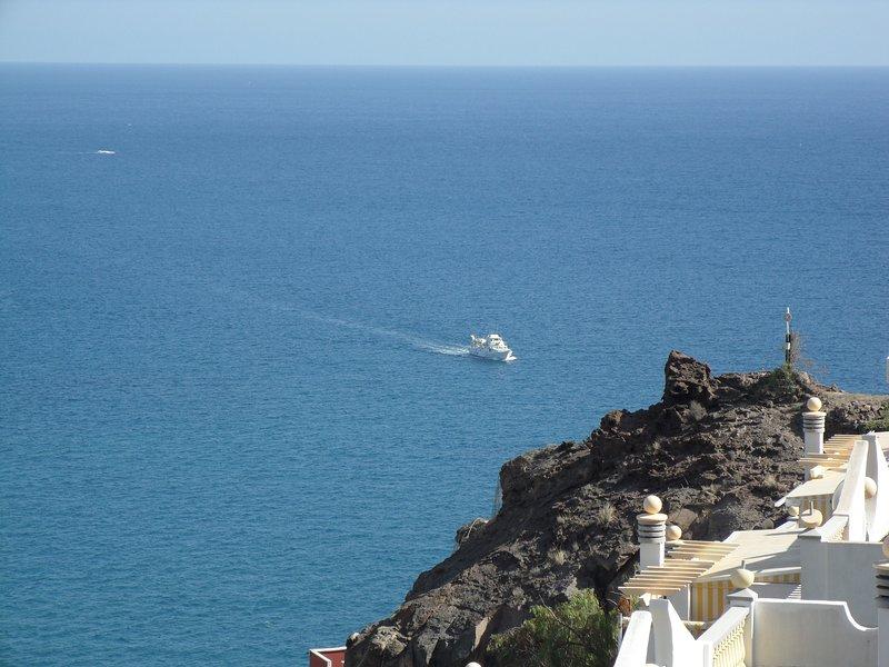 view from Monsenor at the  Atlantic Ocean
