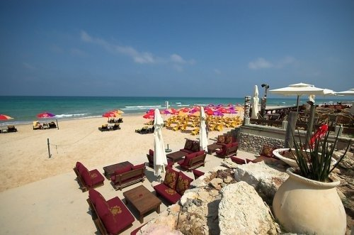 Hasharon Beach- 1 minute walk from our apartments!