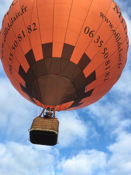 Voli in mongolfiera in partenza dalla tenuta