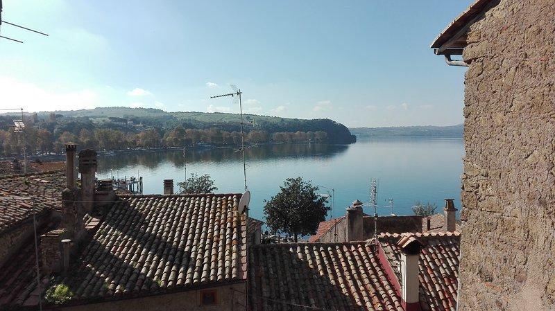 la torretta del lago, casa vacanza a Cesano