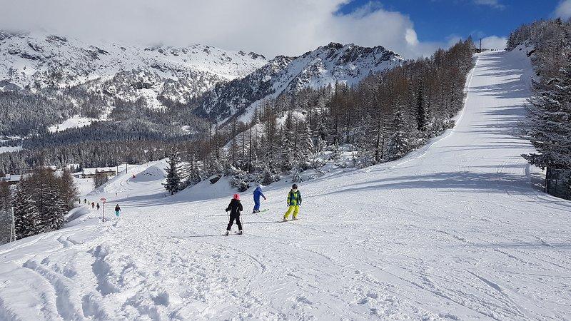 Chiesa in Valmalenco station de ski à seulement une heure en voiture ou en train