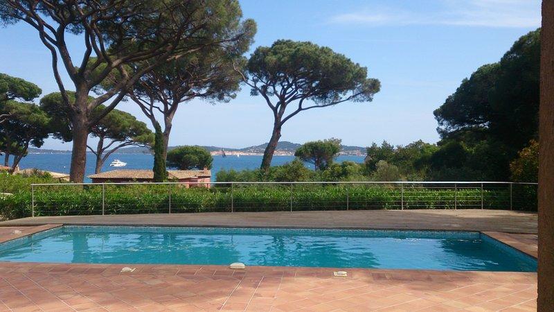 AKTUALISIERT: Grimaud 2019 - Villa plein sud belle vue mer et St ...