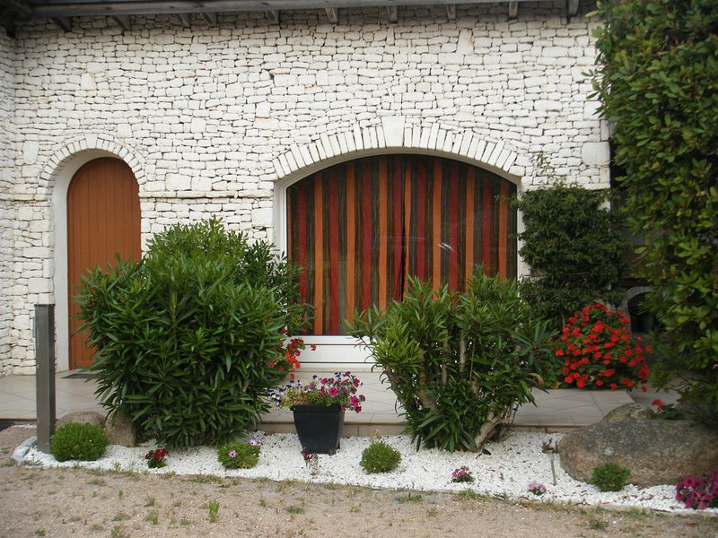 Entrance to the house.