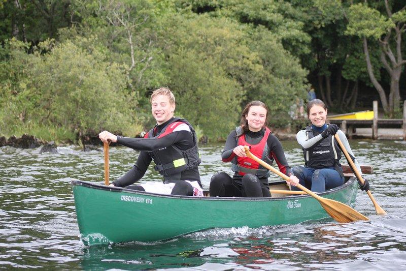 Sunny Bank Mill's canoe