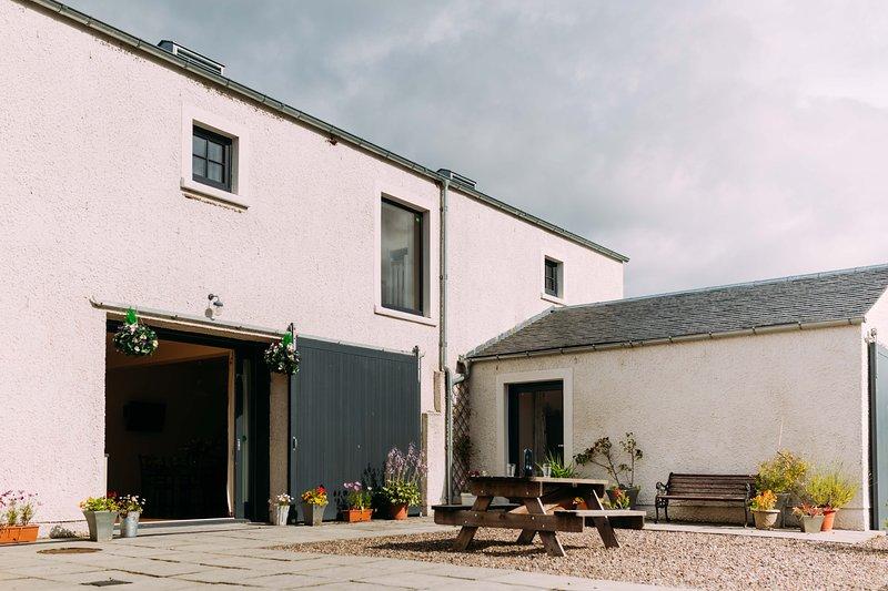 Incheoch Granary, holiday rental in Glamis