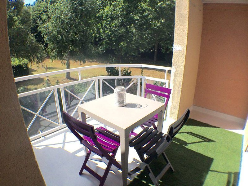 Amazing apartment with balcony, holiday rental in Theix