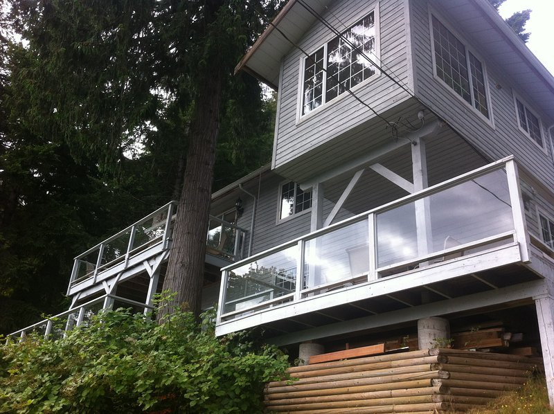 Spectacular View In the Treetops, vakantiewoning in Galiano Island