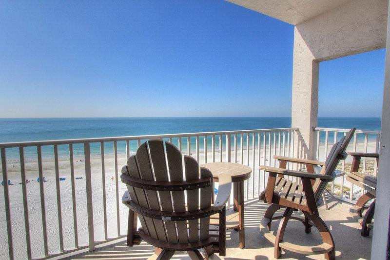 Sea Breeze 608 è direttamente di fronte Golfo e il luogo di vacanza ideale sotto il sole