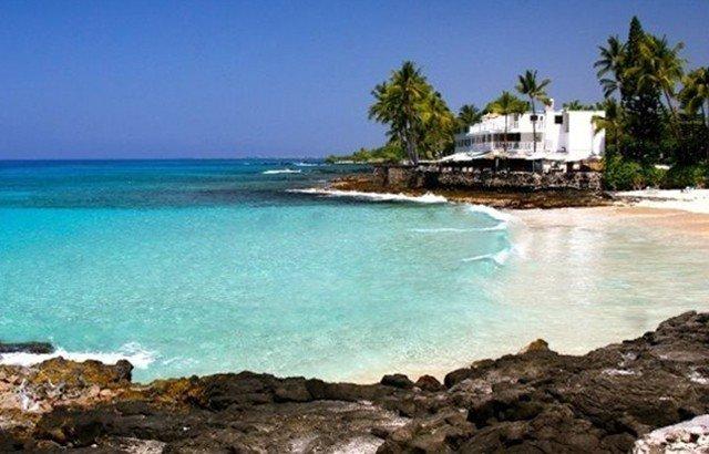 Walk to White Sands Beach ' Kona Magic Sands'