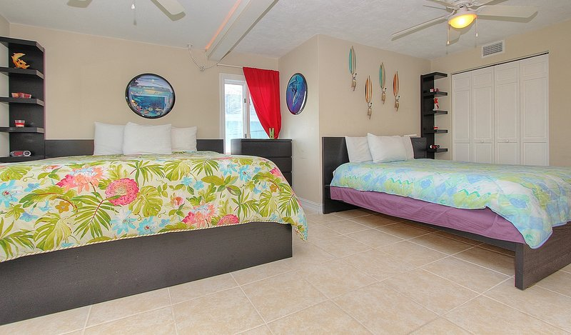 Beach House 1703 features 4 king size beds and queen for guests to relax & enjoy