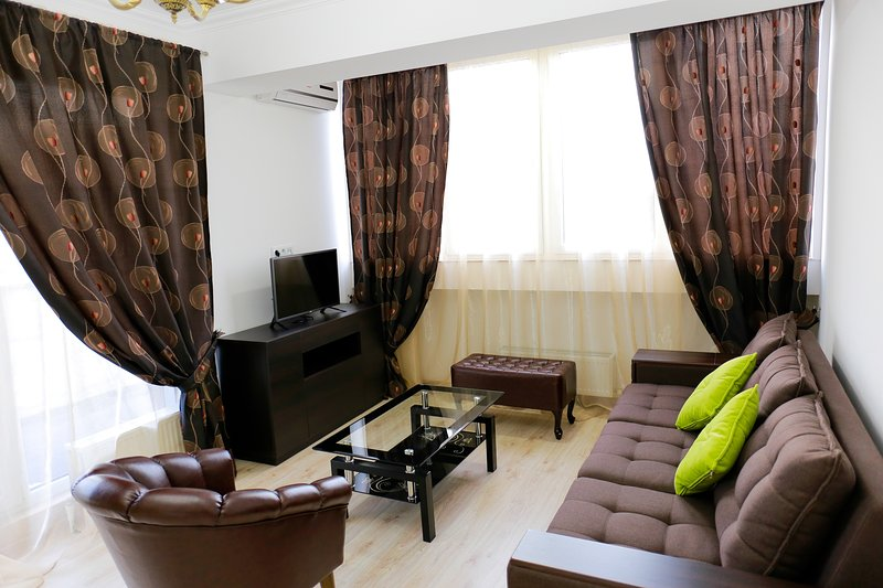 Lovely apartment with 2 rooms and gorgeous view, vacation rental in Chisinau