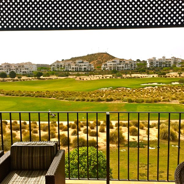 Golf views from the Sunny Terrace