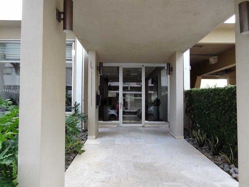L'ingresso alla Lobby