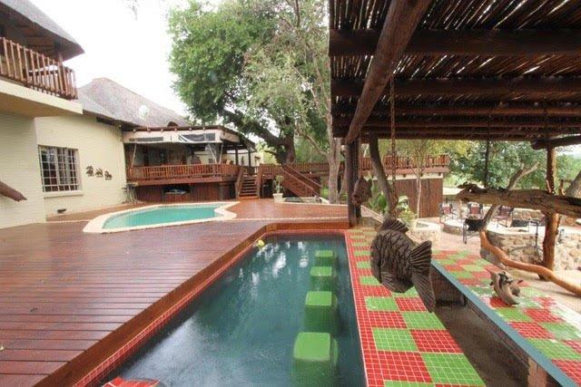 Juega en la tranquilidad del río Olifants, paraíso de las aves, 53 kilometros Parque Kruger, relajarse bajo el sol !!