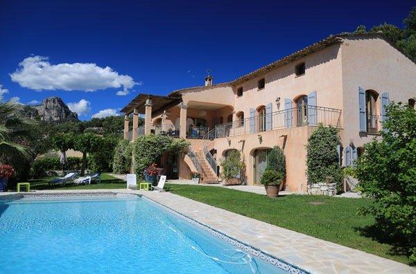 Belle Bastide provençale à Vence avec piscine privée pour 14 personnes