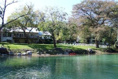 Backyard and Guadalupe Shoreline