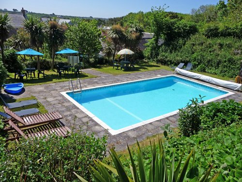Our lovely heated pool