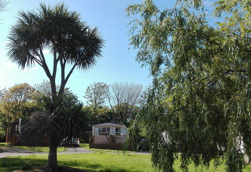 Luxury Static Caravan on 5* Trevella Park Crantock Newquay Cornwall, Ferienwohnung in Crantock