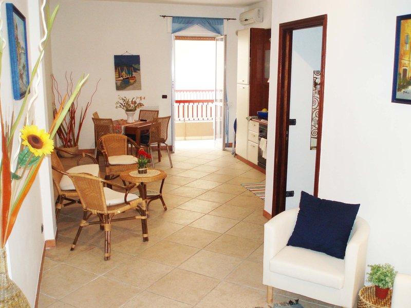 Appartamento Casa Vacanza al Piano terra con ampia veranda a 50mt dal mare!, alquiler vacacional en Gallipoli