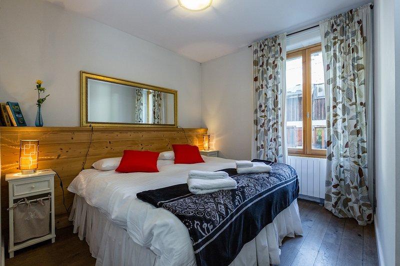 El dormitorio principal como doble - también puede ser doble.