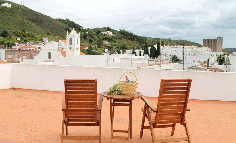 Uitzicht vanaf het terras 1