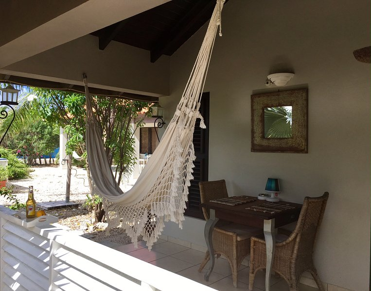 The Private Porch With Dining Table And Of Course A Hammock To Relax In Enjoy