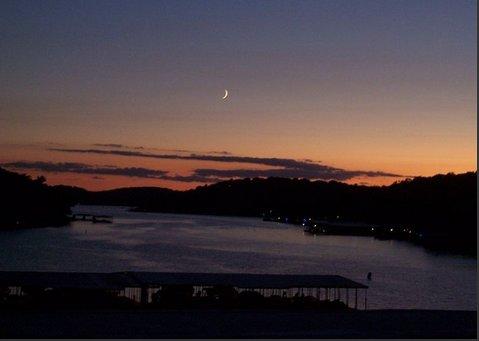 Moonlight Vista dal ponte