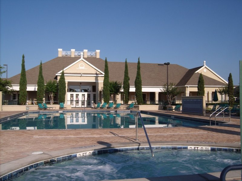 Main Pool, Hot Tub & Club House